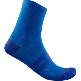 Castelli SuperLeggera T 12 Socks, azzurro italia